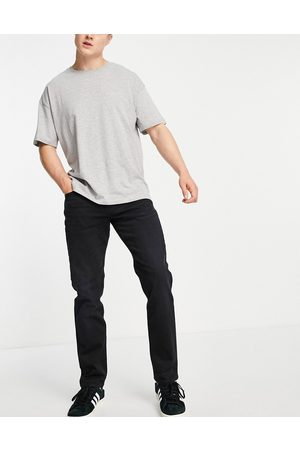 SELECTED Muži Rovné nohavice - Straight fit jeans in black