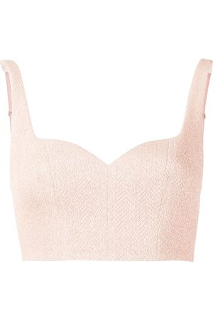 MANNING CARTELL French-kiss crop-top