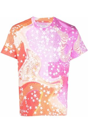 ERL Abstract-print cotton T-shirt