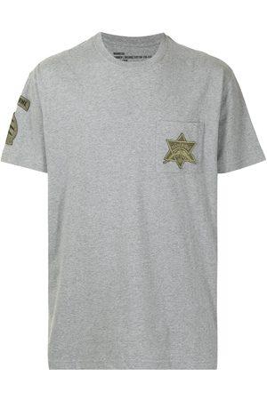 Maharishi Patch detail organic cotton T-shirt