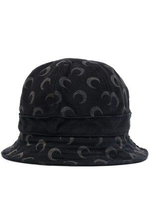 Marine Serre Crescent-moon print bucket hat