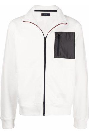 FAY Muži Bundy - Contrasting chest pocket sports jacket