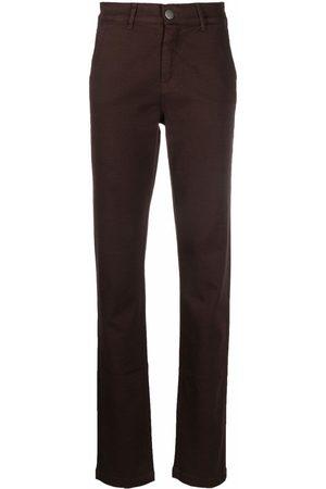 FEDERICA TOSI Ženy Úzké nohavice - Slim-fit cotton trousers