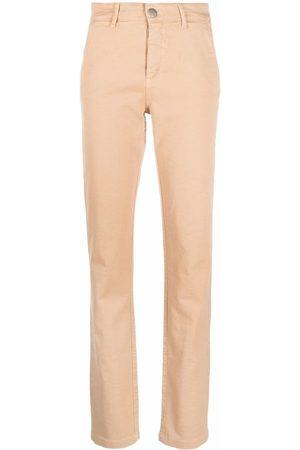 FEDERICA TOSI Ženy Úzké nohavice - Slit-detail slim-cut trousers