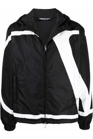 VALENTINO Muži Bundy - VLogo-print jacket