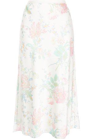 Polo Ralph Lauren Ženy S potiskem - Floral-print midi dress