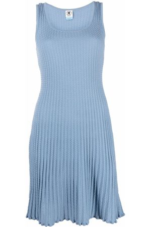 M Missoni Ženy Pletené - Knitted pleated dress