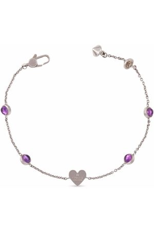 Gucci Heart charm chain bracelet