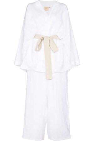 Deiji Studios Ženy Spodní prádlo soupravy - DEIJI STN WSHD WHT KMN TP N PNT 01 SET