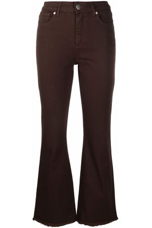 FEDERICA TOSI Cropped flared jeans
