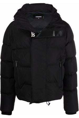 Dsquared2 Muži Péřové bundy - Logo-print puffer coat