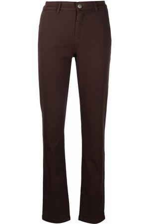 Federica Tosi Ženy Úzké nohavice - Slim-cut mid-rise trousers