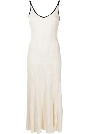 Anna Quan Scarlet ribbed-knit cotton dress