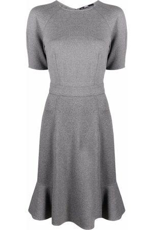 Karl Lagerfeld Peplum-hem jersey dress