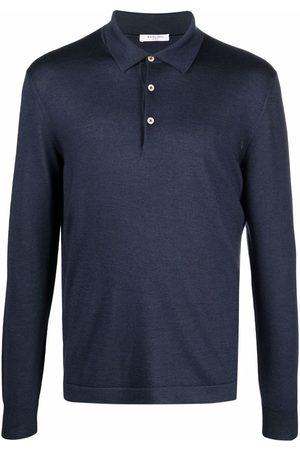 Boglioli Long-sleeved polo shirt