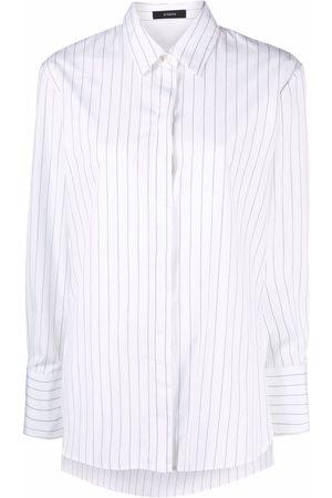 Joseph Pinstripe long-sleeve shirt
