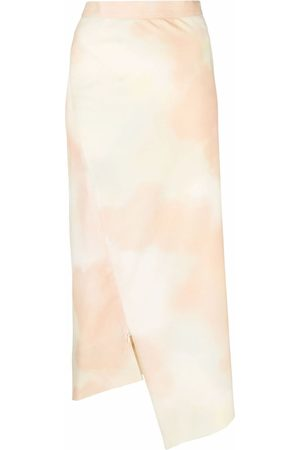 Vivienne Westwood Sky-Print Infinity midi skirt