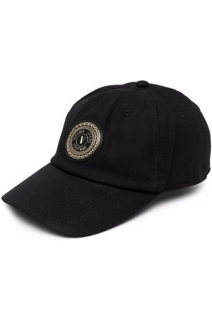VERSACE Patch-embellished cap