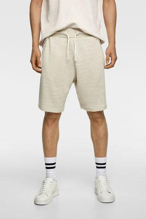 Zara úpletové bermudy jogger