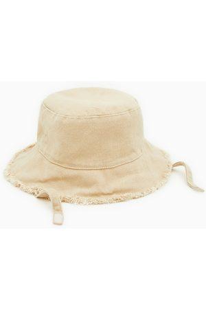 Zara Roztřepený džínový klobouk