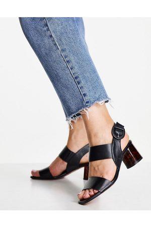 Whistles Ženy S otevřenou špičkou - Adley tort heel sandal in black