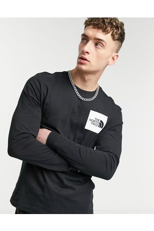 The North Face Fine long sleeve t-shirt in black