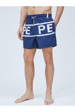 Pepe Jeans Muži Šortky - Pánské modré plavky Soul
