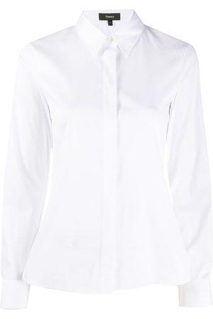 THEORY Ženy S dlouhým rukávem - Fitted long-sleeve shirt