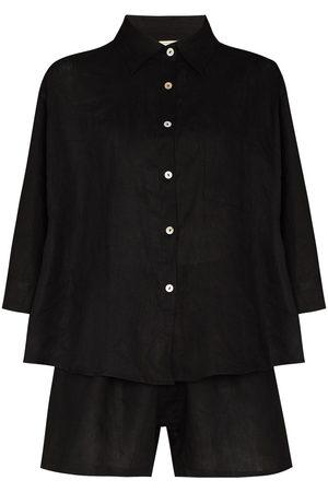 Deiji Studios Ženy Spodní prádlo soupravy - The 03 linen pajamas set