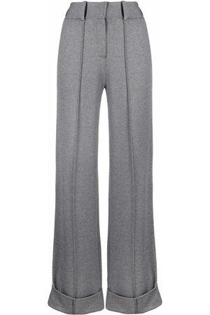 Karl Lagerfeld Ženy Společenské - Wide-leg tailored trousers