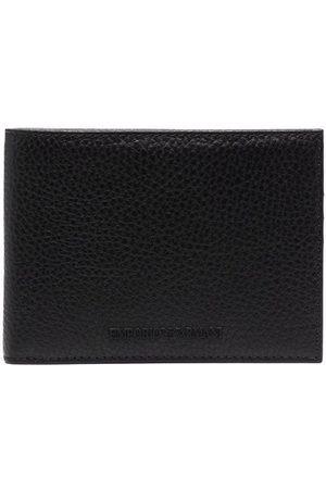 Emporio Armani Muži Peněženky - Pebbled bi-fold wallet