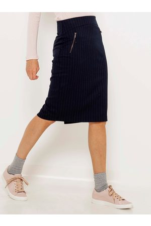 Camaïeu Pruhovaná pouzdrová sukně