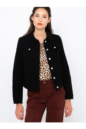 Camaïeu Černá džínová bunda