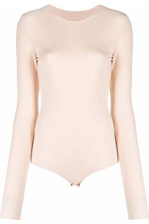 Maison Margiela Ženy S dlouhým rukávem - Long-sleeve jersey bodysuit