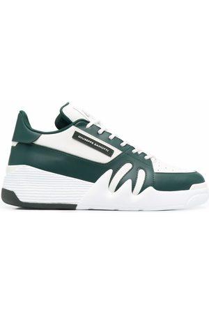 Giuseppe Zanotti Ženy Tenisky - Colour-block low-top leather sneakers
