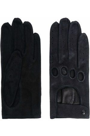 Manokhi Ženy Rukavice - Cut out-detail suede gloves