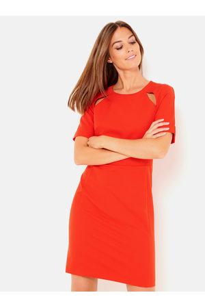 Camaïeu Červené pouzdrové šaty