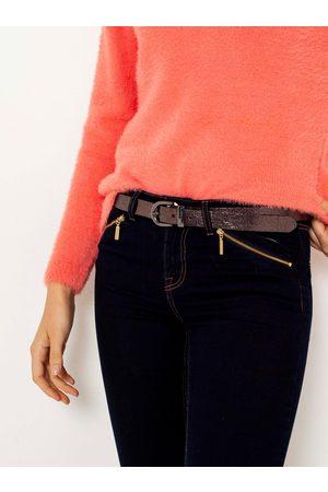 Camaïeu Bronzový pásek