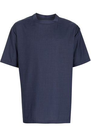 Emporio Armani Muži S krátkým rukávem - Short-sleeved wool T-shirt