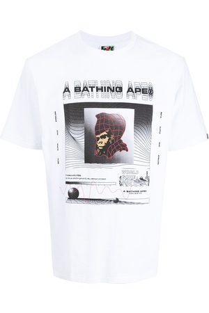 A Bathing Ape Muži S krátkým rukávem - Graphic-print cotton T-shirt
