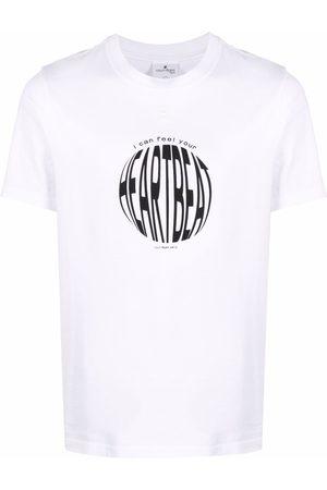 Courrèges Heart Beat print T-shirt