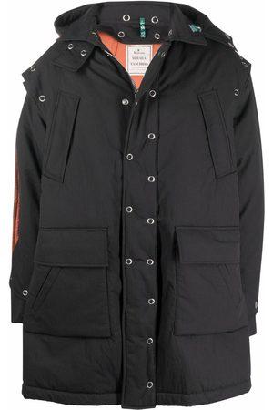 Maison Mihara Yasuhiro Removable-sleeve puffer jacket
