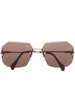 Cazal Sluneční brýle - Frameless hexagonal sunglasses