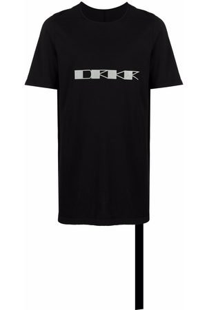 Rick Owens Logo-print cotton T-shirt