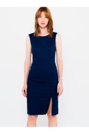 CAMAIEU Tmavě modré pouzdrové šaty