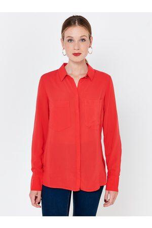 CAMAIEU Červená košile