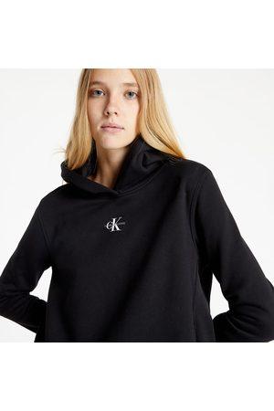 Calvin Klein Micro Monogram Hoodie Ck Black