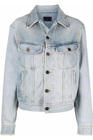 Saint Laurent Button-up denim jacket