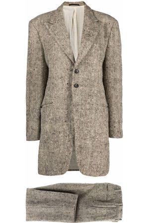 Comme des Garçons 1990s longer blazer two-piece suit