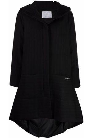 SOCIÉTÉ ANONYME Ženy Parky - Asymmetric hooded coat